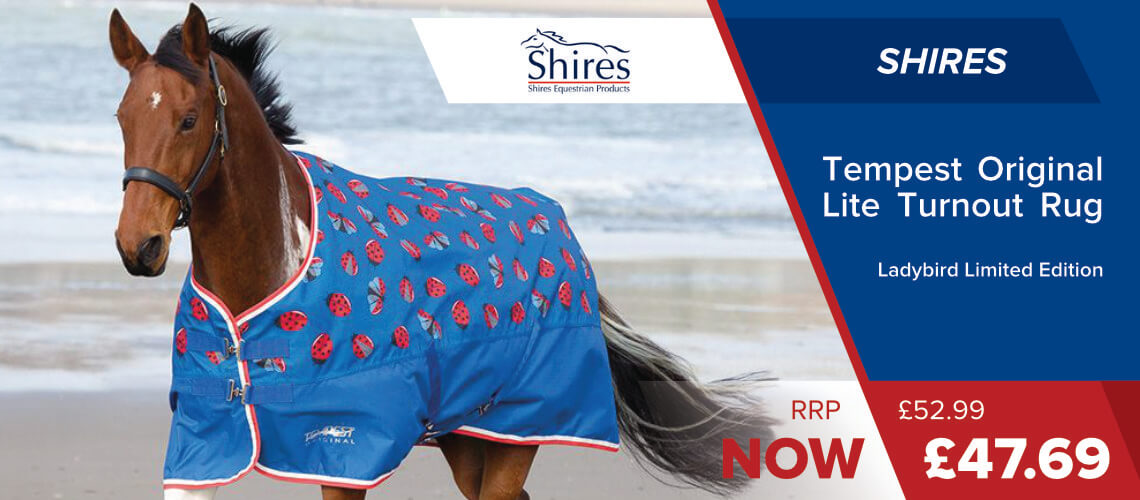 Shires-Tempest-Lite-Ladybird-Limited-Edition