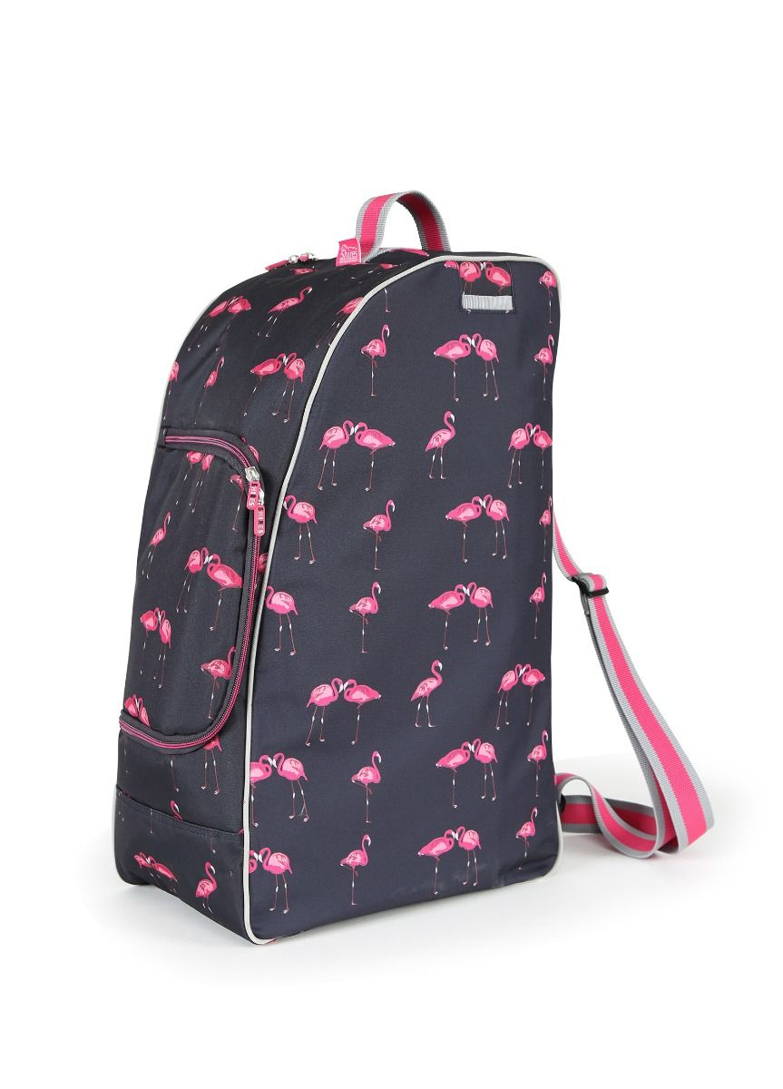 Shires Hat Bag Flamingo Print Shires Equestrian Products Christmas ...