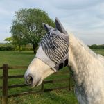 Shires Fine Mesh Fly Veil with Ears