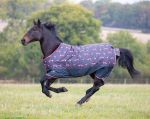 Shires Tempest Original Lite Turnout Flamingo Print