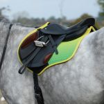 Weatherbeeta Prime Ombre All Purpose Saddle Pad - Sunflower Field