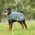 Weatherbeeta ComFITec Premier Free Parka Dog Coat - Medium - Green Pheasant Print