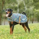 Weatherbeeta ComFITec Premier Free Parka Dog Coat - Medium - Green Pheasant Print