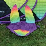 Weatherbeeta Prime Ombre Ear Bonnet - Rainbow