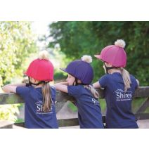 Shires Pom Pom Hat Cover - Plain