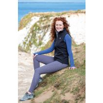 Aubrion Tinkham Reflective Riding Tights - Ladies