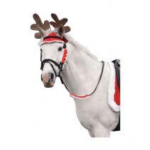 Hy Christmas Santa Rein Sleeves - Set of 2