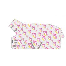 Hy Mesh Combo Neck Fly Rug - Butterfly Print