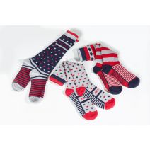 Just Togs Sloan Socks - Pack of 3