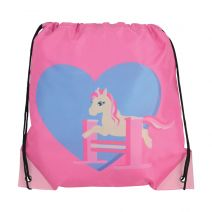 Little Rider Show Pony Draw String Bag