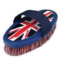 Cottage Craft Body Brush DM Union Jack