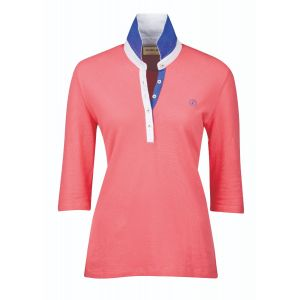 Dublin Nora Three Quarter Sleeve Polo