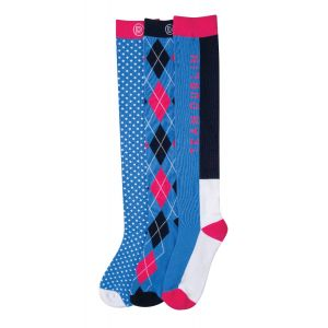Dublin Mandy Three Pack Socks