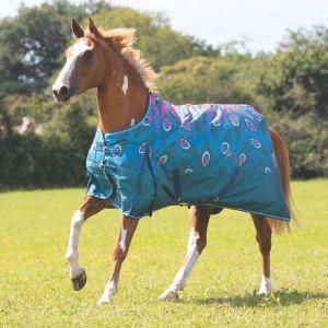 Shires Highlander Original 200g Turnout - Pink Peacock