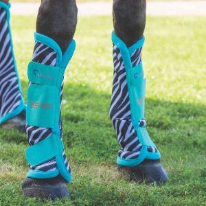 Shires ARMA ZEB-TEC Fly Turnout Socks - Zebra - Pack of 4