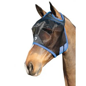 Hy Equestrian Mesh Half Mask without Ears
