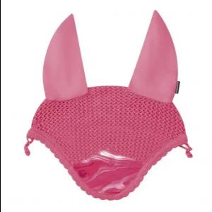 Weatherbeeta Prime Marble Prime Marble Ear Bonnet - Pink Swirl