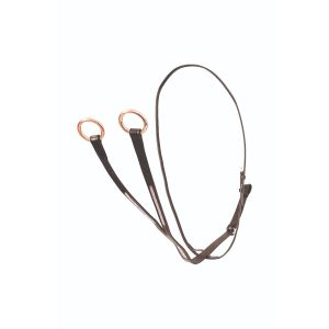 Hy Equestrian Rosciano Rose Gold Martingale