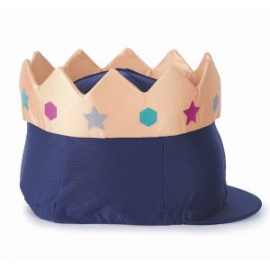 Shires Crown Hat Cover - Navy