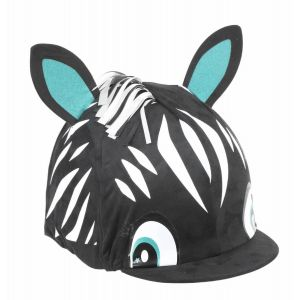 Shires Zebra Hat Cover