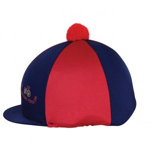 Hy Equestrian Tractors Rock Hat Cover - Navy/Red