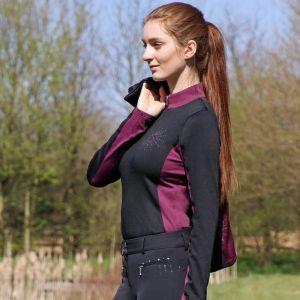 Hy Equestrian Knightsbridge Long Sleeved Sports Shirt