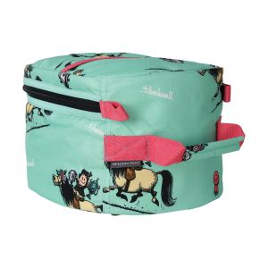 Hy Equestrian Thelwell Collection Trophy Hat Bag - Mint/Pink