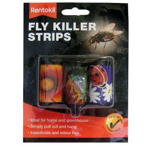 Rentokil Fly Killer Strips - 3 Pack