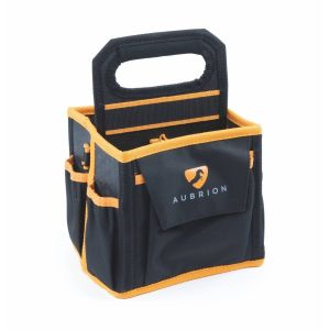 Aubrion Mini Grooming Tote Bag - Black/Orange