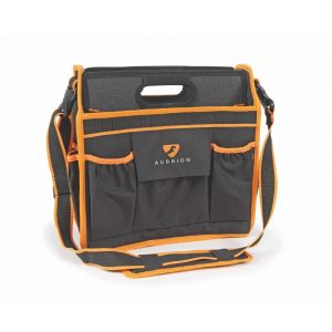 Aubrion Grooming Tote Bag - Black/Orange