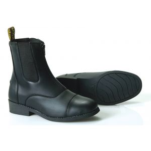 Saxon Equileather Zip Paddock Boots