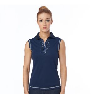 Just Togs Jessica Sleeveless Polo Top