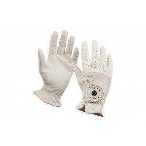 Dublin Diamante Patent Dressage Riding Gloves