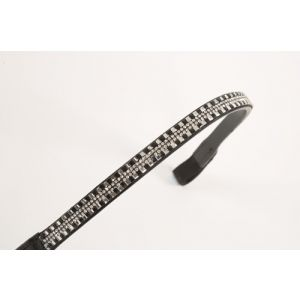 Shires Aviemore Square Diamante Browband