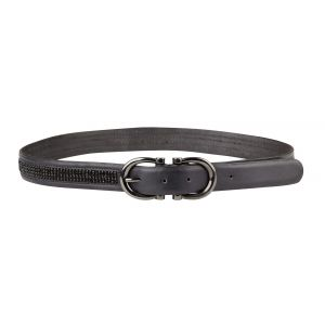 Dublin Horseshoe Belt - Black
