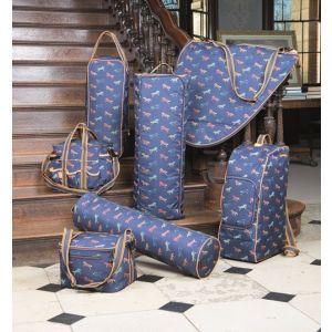 Shires Horse Print Double Bridle Bag