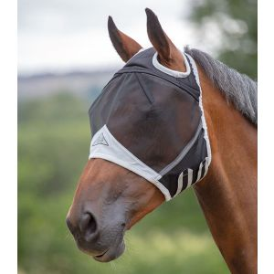 Shires Fine Mesh Fly Mask With Ear Hole