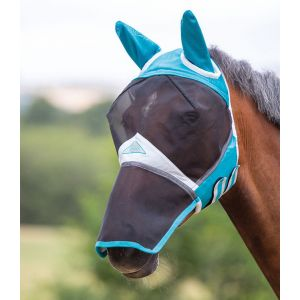 Shires Fine Mesh Fly Mask with Ears & Nose