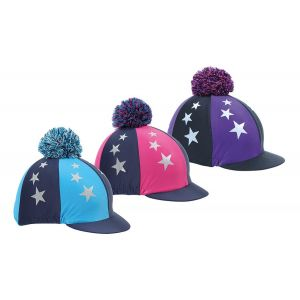 Shires Pom Pom Hat Cover Stars