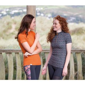 Shires Aubrion Pimlico Short Sleeve Base Layer - Ladies