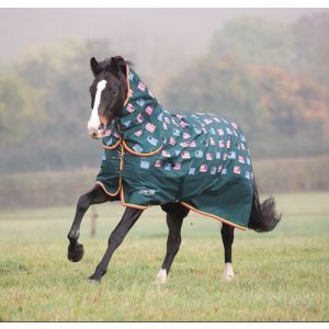 Shires Tempest Original 200 Combo Turnout - Sheep Print