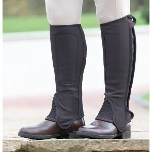 Shires Synthetic Nubuck Half Chaps