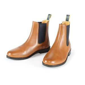 Moretta Angelo Leather Chelsea Boots