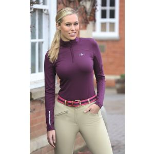 Shires Beijing Base Layer Top - Ladies