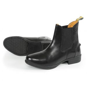 Moretta Lucilla Leather Jodhpur Boots - Childs