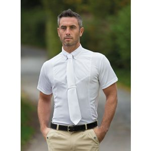 Shires Gents Short Sleeve Tie Shirt