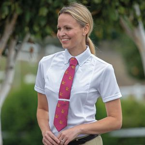 Shires Short Sleeve Tie Shirt