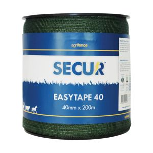 Agrifence Easytape Polytape - Green - 40mm x 200m