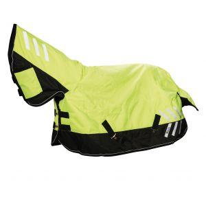 Masta Turnout Rug Avante Hi-Viz 200g Fixed Neck - Yellow/Black