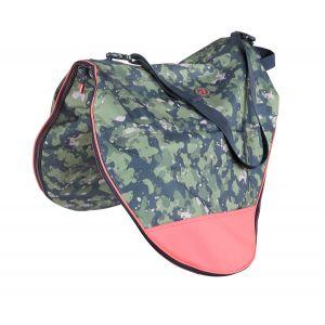 Aubrion Camo Print Saddle Bag